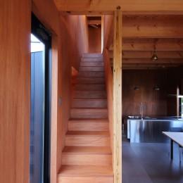 Tsui no ie -風景を楽しむ家- (階段)