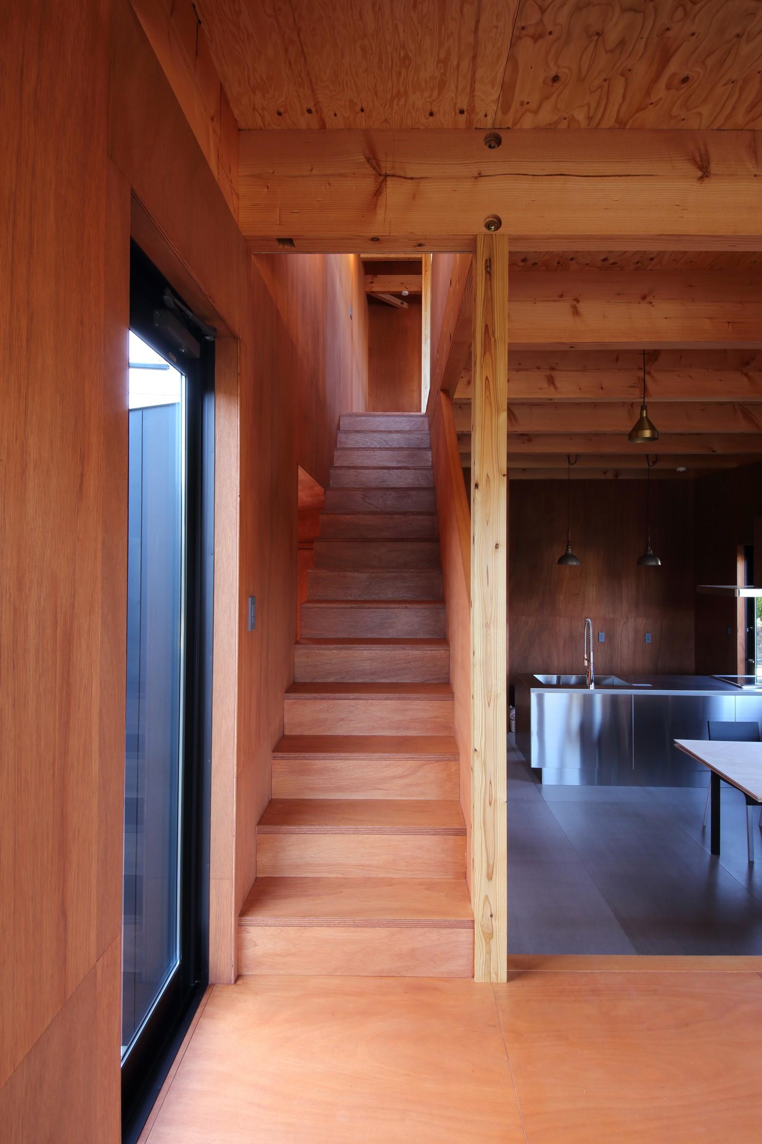 その他事例:階段(Tsui no ie -風景を楽しむ家-)