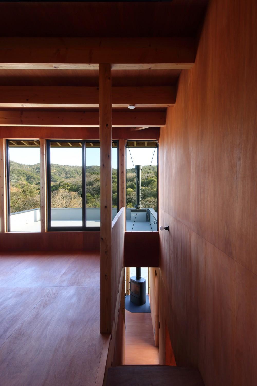 Tsui no ie -風景を楽しむ家- (廊下)