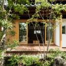 Omoya -入母屋造の民家の改修-の写真 テラス