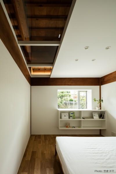 部屋 (Omoya -入母屋造の民家の改修-)