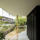 Hanare -立体的な屋根形状の家-の写真 ポーチ