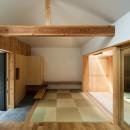 Hanare -立体的な屋根形状の家-の写真 和室