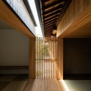 Hanare -立体的な屋根形状の家-の写真 縁側