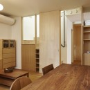 Daidou no ie -トップライトの家-の写真 リビング