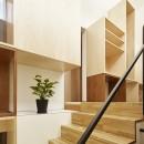 Daidou no ie -トップライトの家-の写真 階段