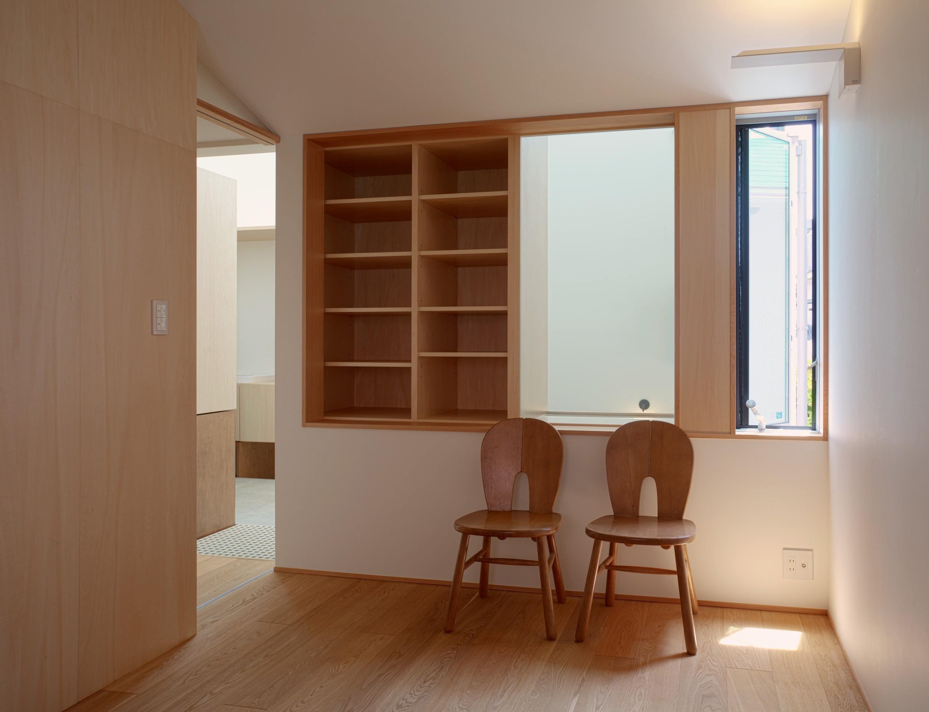 子供部屋事例:部屋(Daidou no ie -トップライトの家-)