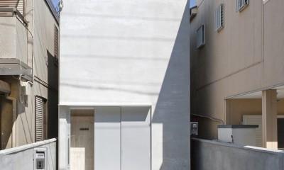 Imaike no ie -狭小地に建つ家-