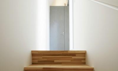 Imaike no ie -狭小地に建つ家- (階段)