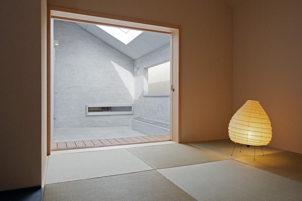 Imaike no ie -狭小地に建つ家- (和室)