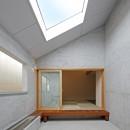 Imaike no ie -狭小地に建つ家-の写真 中庭