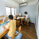 揖斐郡 S様邸|rapportの写真 子供の勉強部屋