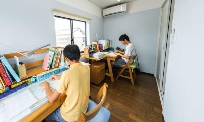 揖斐郡 S様邸 rapport (子供の勉強部屋)