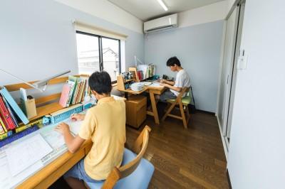 子供の勉強部屋 (揖斐郡 S様邸 rapport)