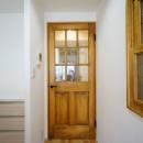 Tea timeの写真 無垢ドア