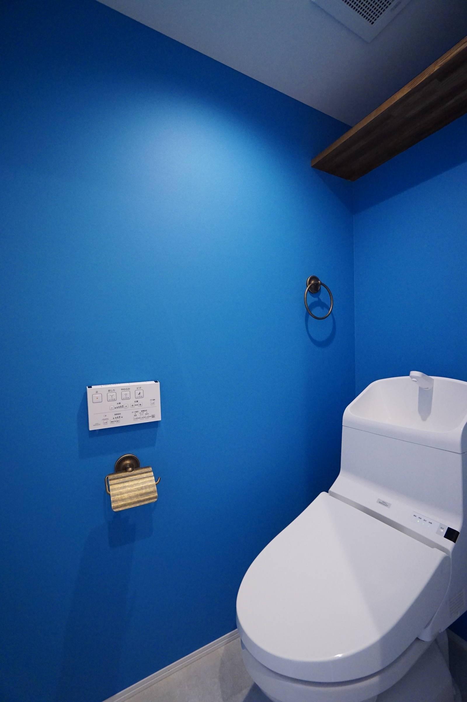 バス/トイレ事例:トイレ(本物の存在感)