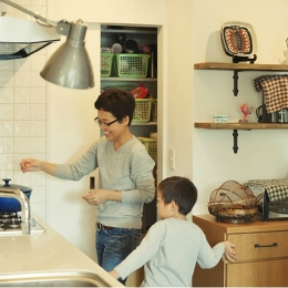 リノベーション / herbal-キッチンスペース