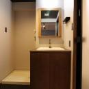 マンションリノベーションの写真 洗面室