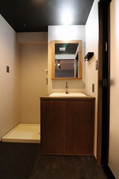 洗面室 (N様邸~マンションリノベーション~)
