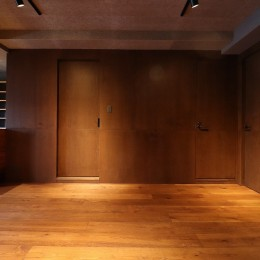 N様邸~マンションリノベーション~ (建具と壁の一体感)