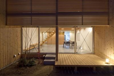 デッキ (加古川の家)