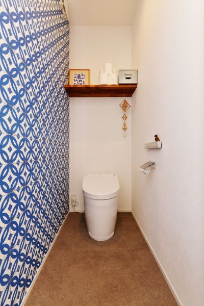 トイレ (Y様邸_程よい距離感でずっと仲良し)