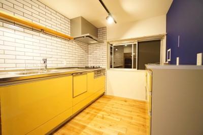 キッチン2 (猫も快適)