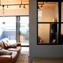趣味と、アメリカンファニチャーから始まる家づくり。の写真 リビング/ダイニング/マルチスペース(小上がり)