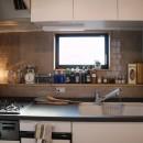 趣味と、アメリカンファニチャーから始まる家づくり。の写真 キッチン/オリジナルカウンター