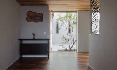 K18-house「Terrace House」 (エントランスホール)