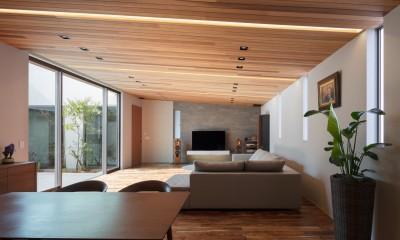 K18-house「Terrace House」 (リビング・ダイニング内)