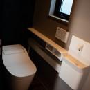 趣味と、アメリカンファニチャーから始まる家づくり。の写真 トイレ