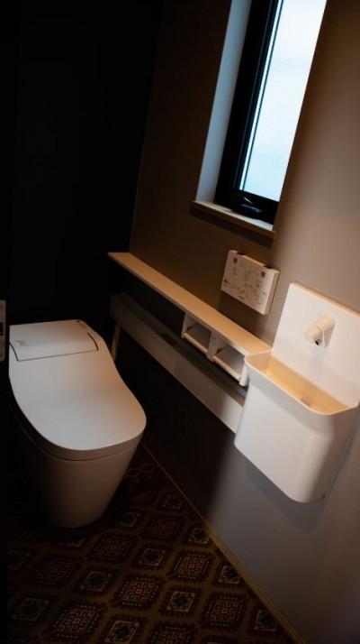 トイレ (趣味と、アメリカンファニチャーから始まる家づくり。)