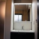 趣味と、アメリカンファニチャーから始まる家づくり。の写真 洗面・脱衣室