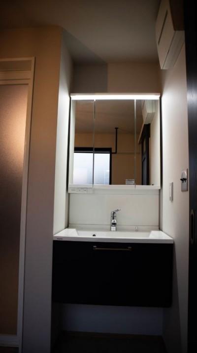 洗面・脱衣室 (趣味と、アメリカンファニチャーから始まる家づくり。)