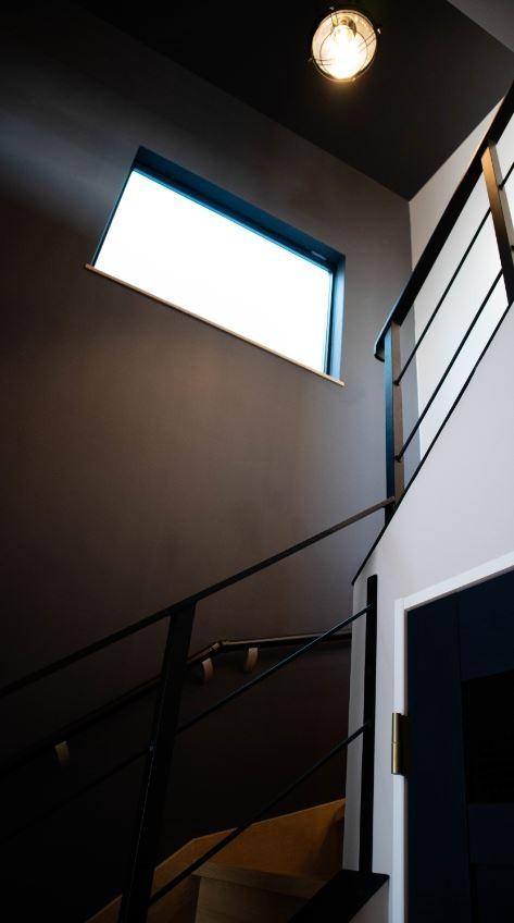 趣味と、アメリカンファニチャーから始まる家づくり。 (階段)