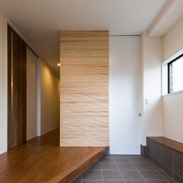 段々天井の家