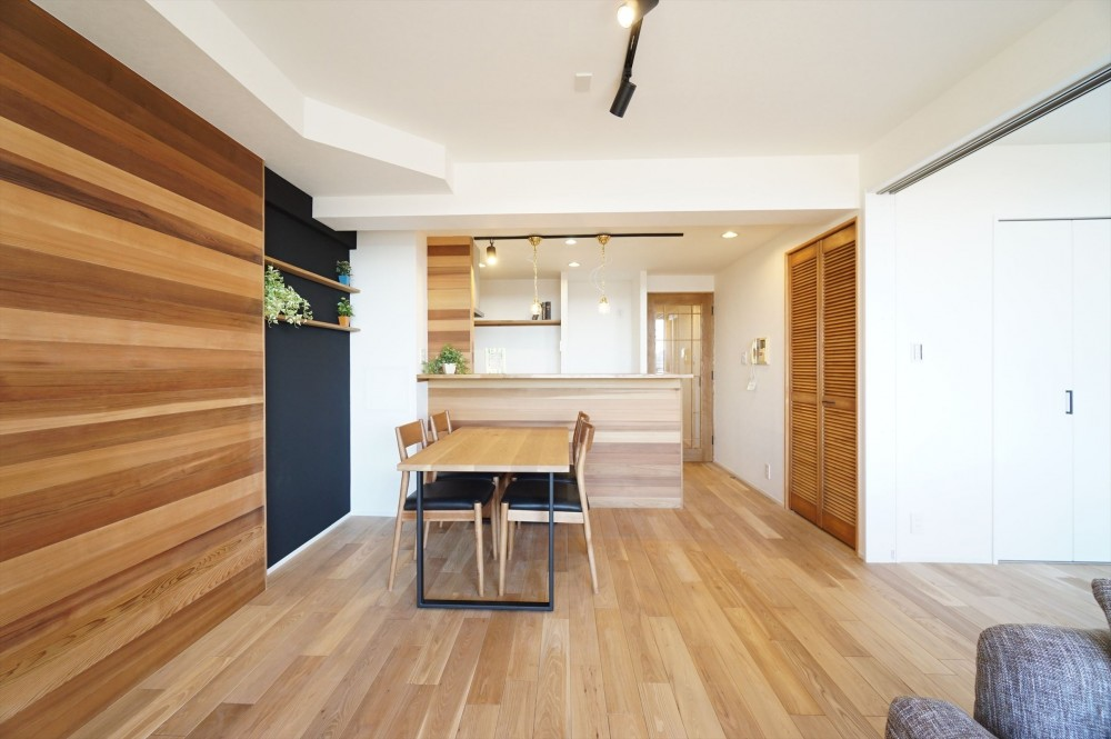 comfortable house (リビングダイニング2)