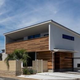 海が見える家