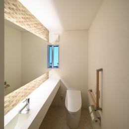 矩形の平屋 (トイレ)