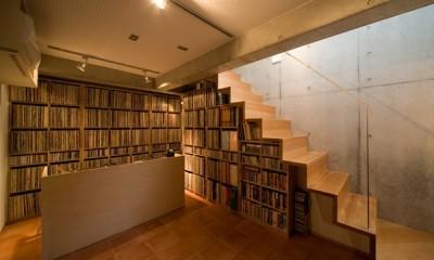 趣味のスタジオ|吉祥寺N邸ー趣味のスタジオを