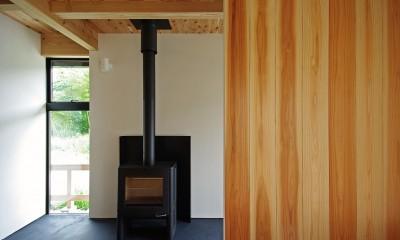 石巻の家-ishimaki (薪ストーブ)