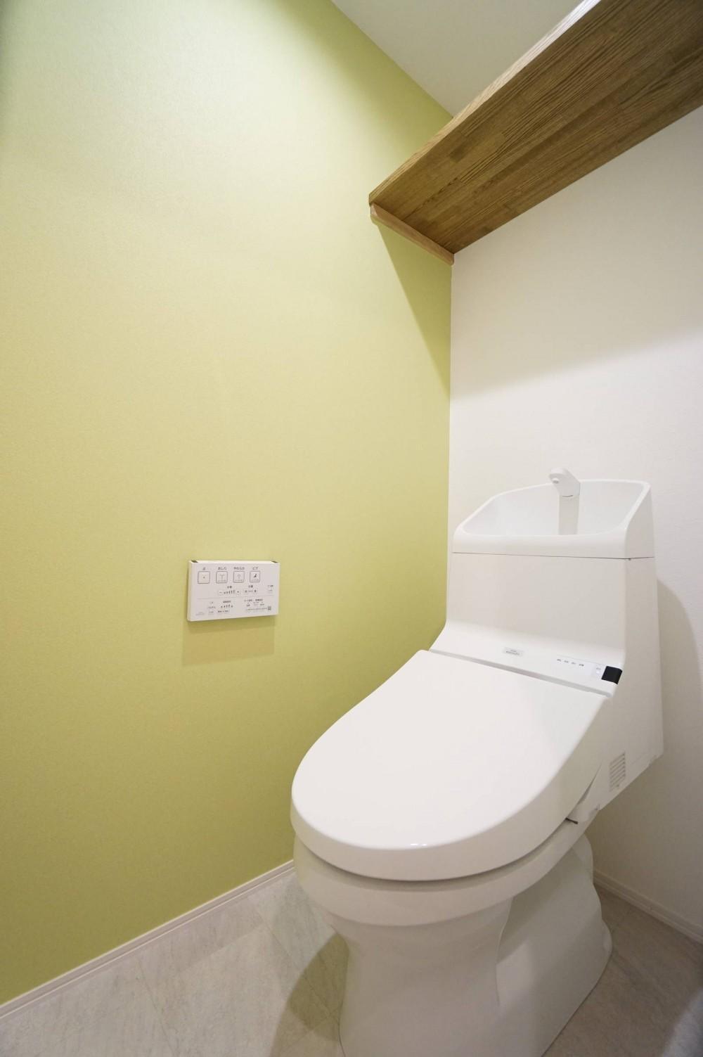 柔らかな彩り (トイレ)