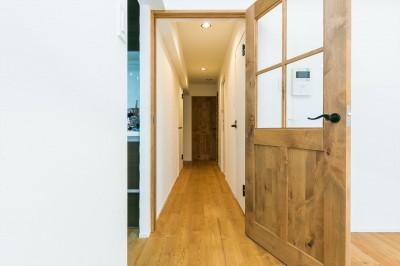 無垢ドア (Natural×無垢材×掘りごたつ)