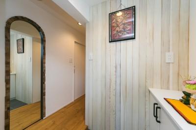 玄関2 (Natural×無垢材×掘りごたつ)