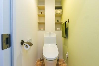 トイレ (Natural×無垢材×掘りごたつ)