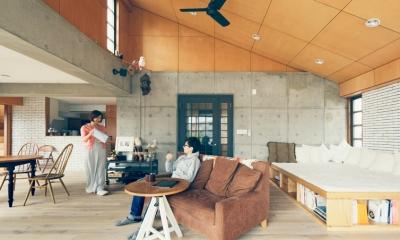 北欧の別荘のような空間|リノベーション / skra