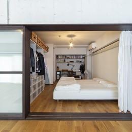 兵庫県Kさん邸:味のある自然素材の空間を見渡して心地よく