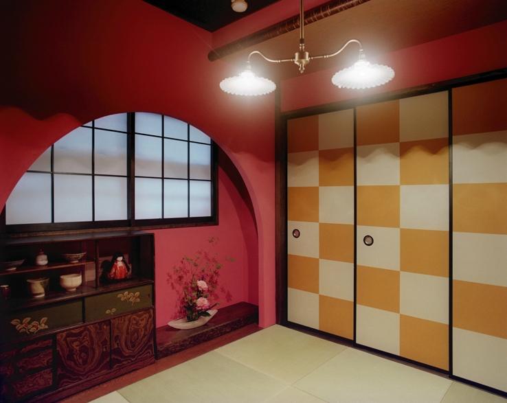 リノベーション / latticeの部屋 茶室/アーチ垂壁