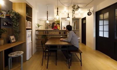 T邸-新しくするだけではない、リノベーションで暮らしやすさを実現